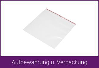 Aufbewahrung und Verpackung