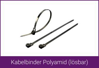Kabelbinder Polyamid (lösbar)