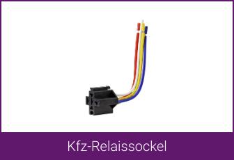 TRU Components Kfz-Relaissockel