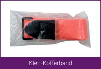 Klett-Kofferband