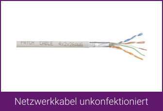 TRU Components Netzwerkkabel unkonfektioniert