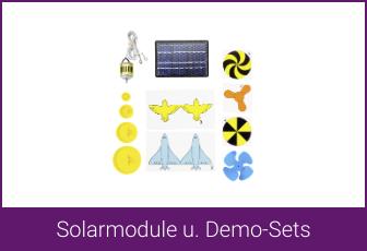 Solarmodule u. Demo-Sets