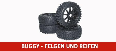 Buggy - Felgen und Reifen