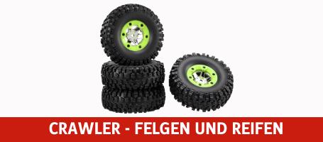 Crawler - Felgen und Reifen