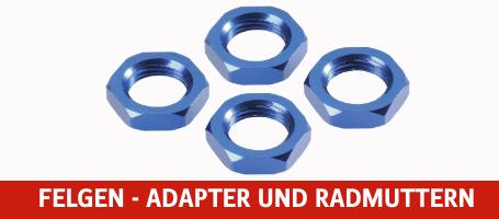 Felgen - Adapter und Radmuttern