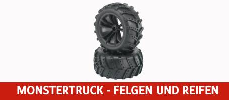 Monstertruck Felgen und Reifen