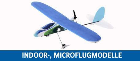 REELY Indoor-, Microflugmodelle
