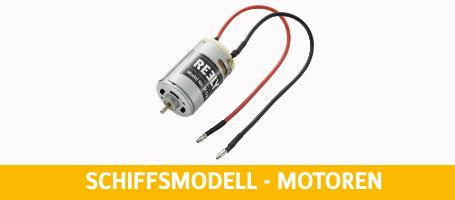 Schiffsmodell - Motoren