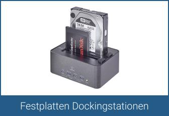 Festplatten Dockingstationen