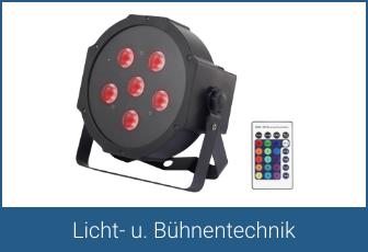 Licht- u. Bühnentechnik