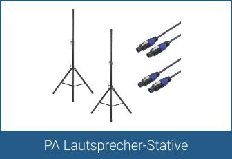 PA Lautsprecher-Stative
