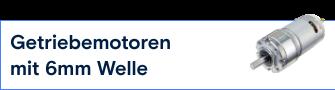 TRU Components Getriebemotor 6mm