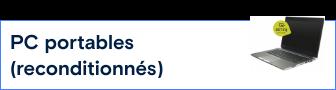 PC portables reconditionnés