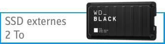 Disques durs SSD externes 2 To