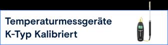 VOLTCRAFT-K-Typ Kalibriert