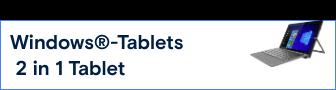 Alles zu Windows®-Tablets / 2 in 1 Tablet »