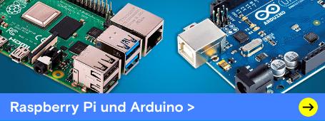 Raspberry Pi & Arduino: Unterschiede und Gemeinsamkeiten. Jetzt entdecken »