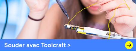 Souder avec Toolcraft »